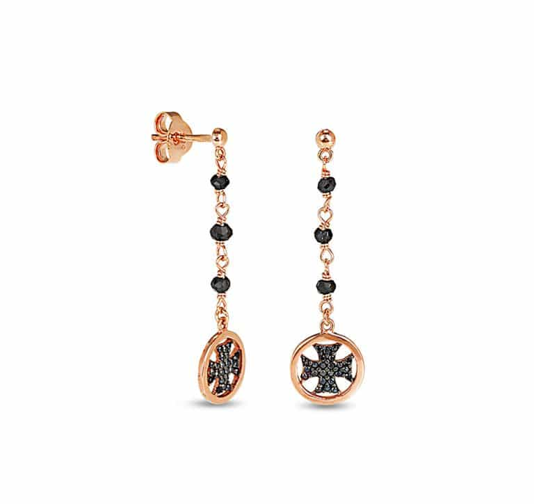 Photoshooting-Product-Earrings-Black-RoseGold-LarteAdv